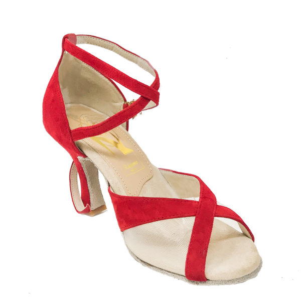 Duchess AS DS-Suede-Red-F3-I