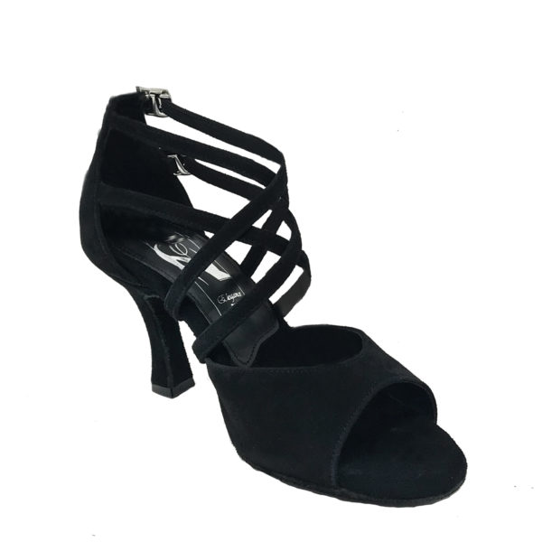 Elegance Chic AS DS-Suede-Black-F3-I