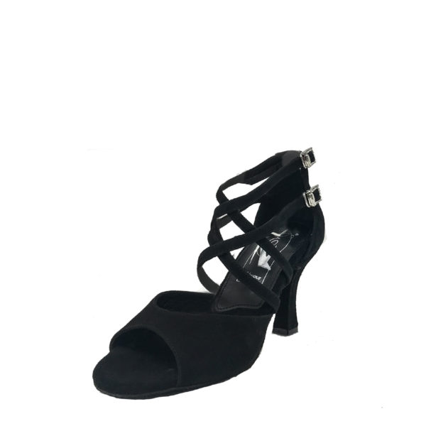 Elegance Chic AS DS-Suede-Black-F3-O