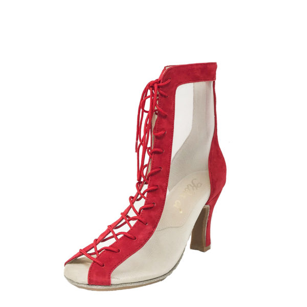 Godiva Chic DS RS-Suede-Red-N3-O