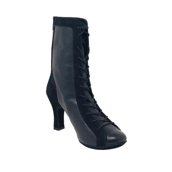 Godiva Chic RT Double Sole LeatherSuede Black N3-I