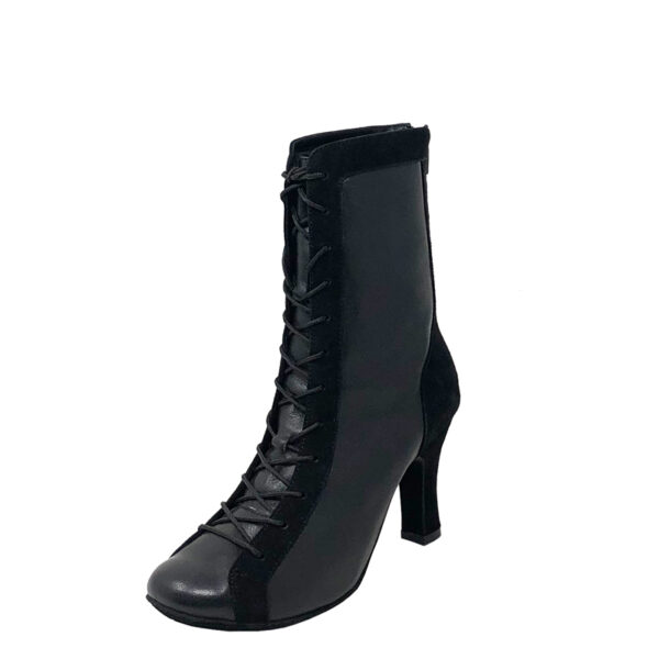 Godiva Chic RT Double Sole LeatherSuede Black N3-O