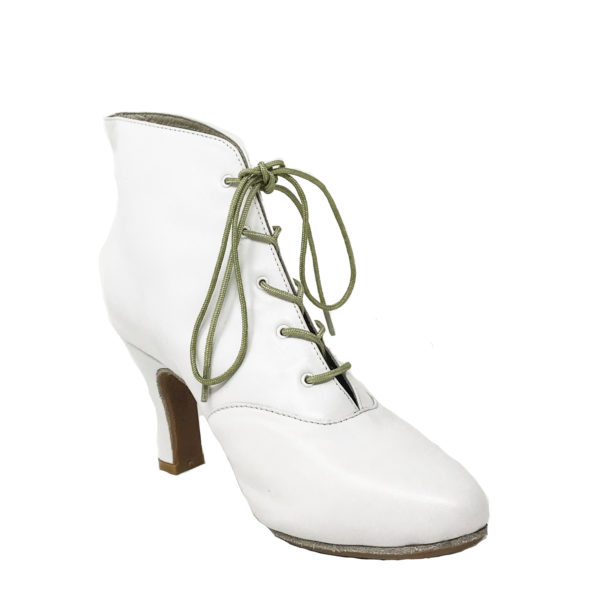 Lady Di DS-Leather-White-N3-I