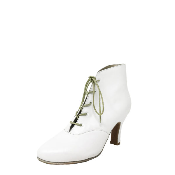 Lady Di DS-Leather-White-N3-O