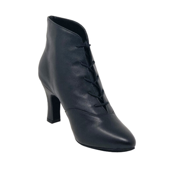 Lady Di-Double Sole-Leather-Black-N3-I