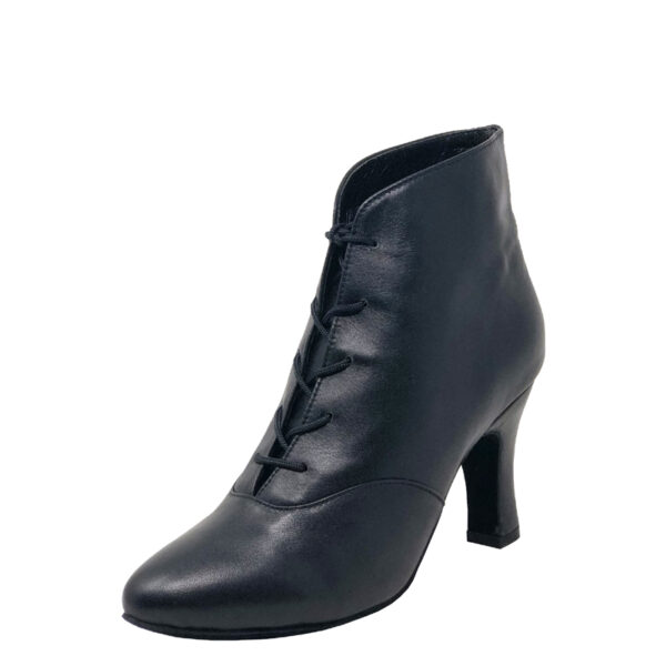 Lady Di-Double Sole-Leather-Black-N3-O