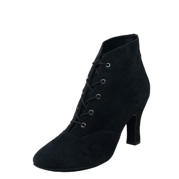 Lady Di-Double Sole-Suede- Black-N3-O