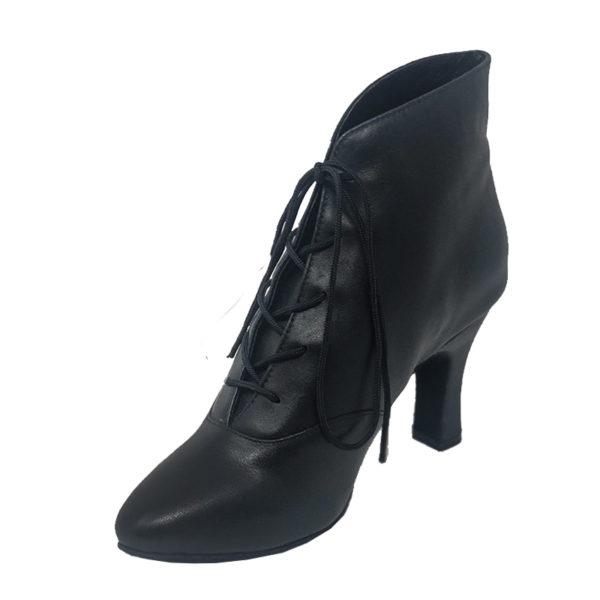 Lady Di Leather- Black
