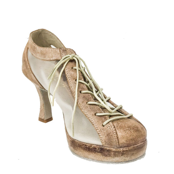 Lady Godiva CB RT 1_2 Platform-Rough Leather-Tan-F3-I