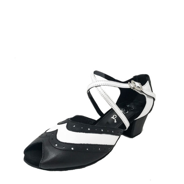 Marquees 3 AS Flexi DS-Leather-Black-White-YCO-O