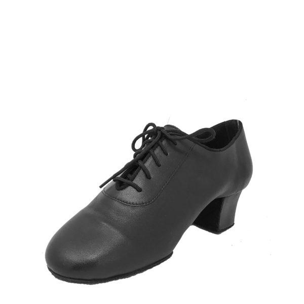 Mens Latin Split-Leather-Black-NCO-O