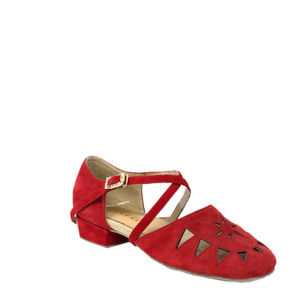 New Princess suede red 1