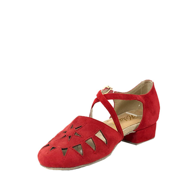 New Princess suede red 1.