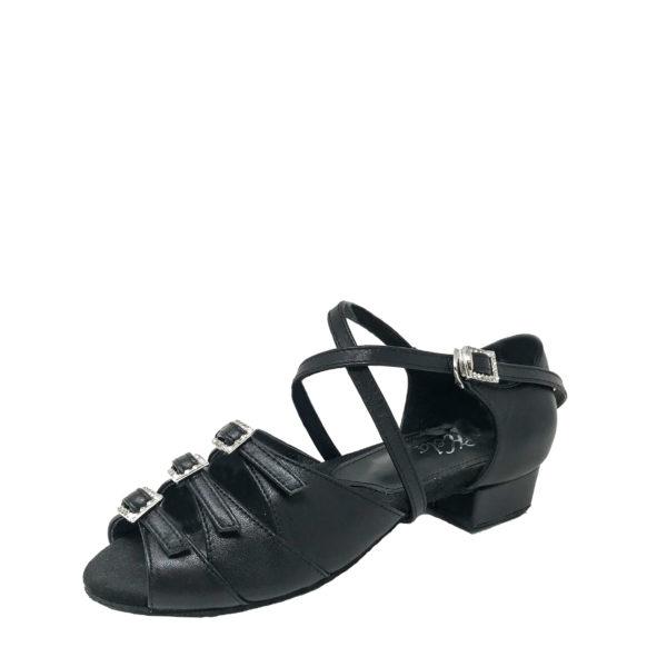 Ziba 3 Flexi DS-Leather-Black-1inch-O