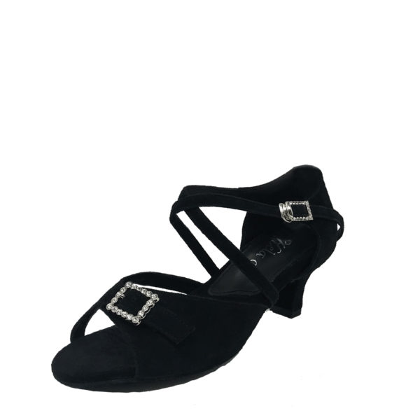 Ziba RB DS-Suede-Black-N2-O