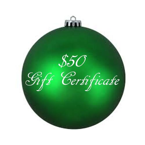 50 Off Certificate