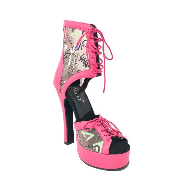 Godiva Chic 2 Platform 1-Leather-Pink-ABC-N5-IP