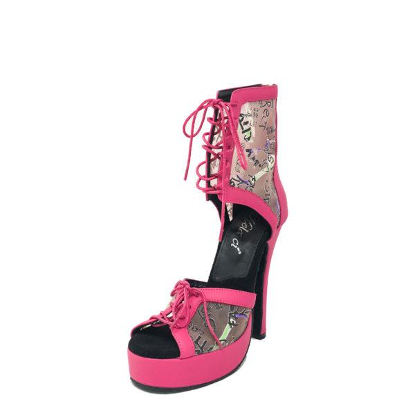 Godiva Chic 2 Platform 1-Leather-Pink-ABC-N5-OP