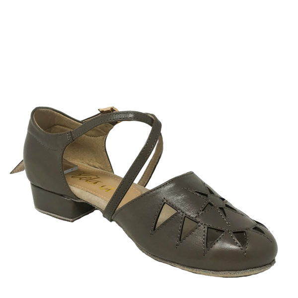 New Princess Flexi DS-Leather-Tan Brown-1inch-I