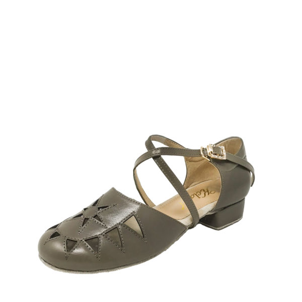 New Princess Flexi DS-Leather-Tan Brown-1inch-O