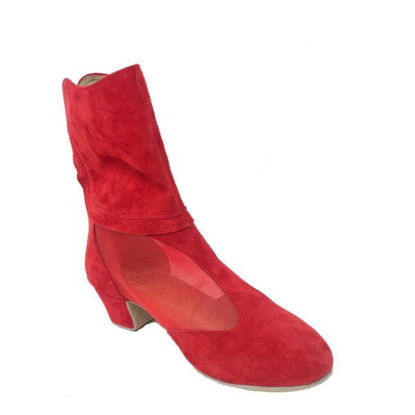 Victoria 2 Flexi DS-Suede-Red-YCO-I