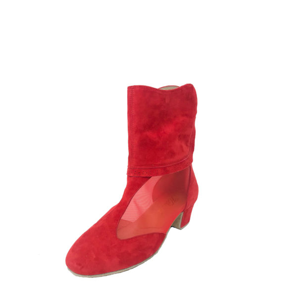 Victoria 2 Flexi DS-Suede-Red-YCO-O
