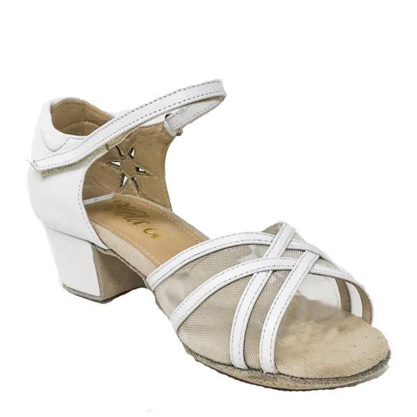 Jizel Mesh VLS DS-Leather-White-YCO-I