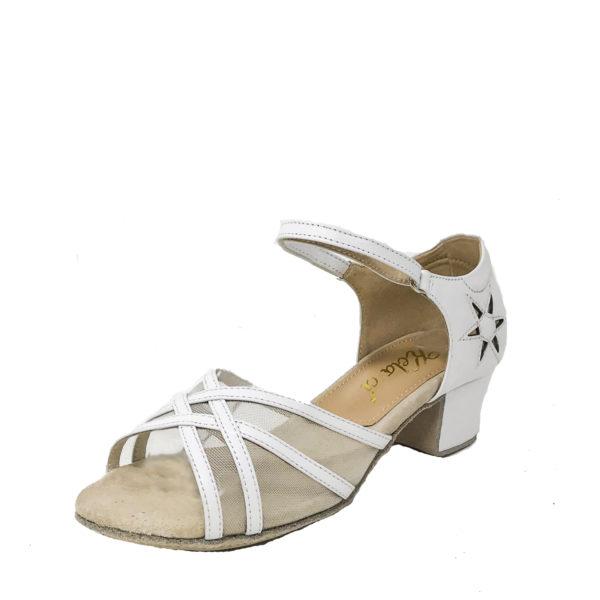 Jizel Mesh VLS DS-Leather-White-YCO-O